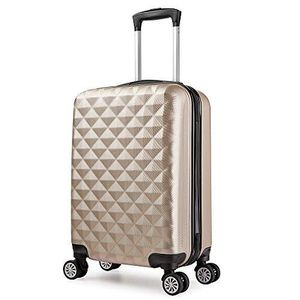 VALISE - BAGAGE Valise Rigide Trolley 4 double roues 65 cm ABS ult