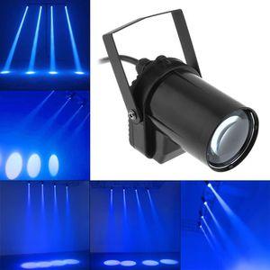 LAMPE ET SPOT DE SCÈNE 5W Lampe bleu de LED Éclairage spot de scène