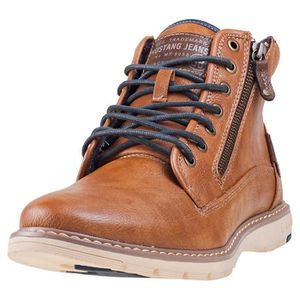 BOTTE Mustang Lace Up Boot Hommes Bottes chukka châtaign