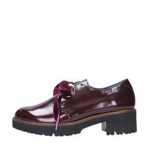 MOCASSIN Callaghan 13417 Lace Shoes Femme Bordeaux