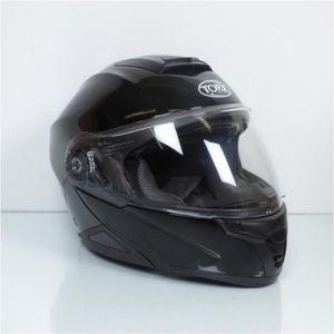 CASQUE MOTO SCOOTER Casque modulable noir brillant Torx Neil2 TailleXX