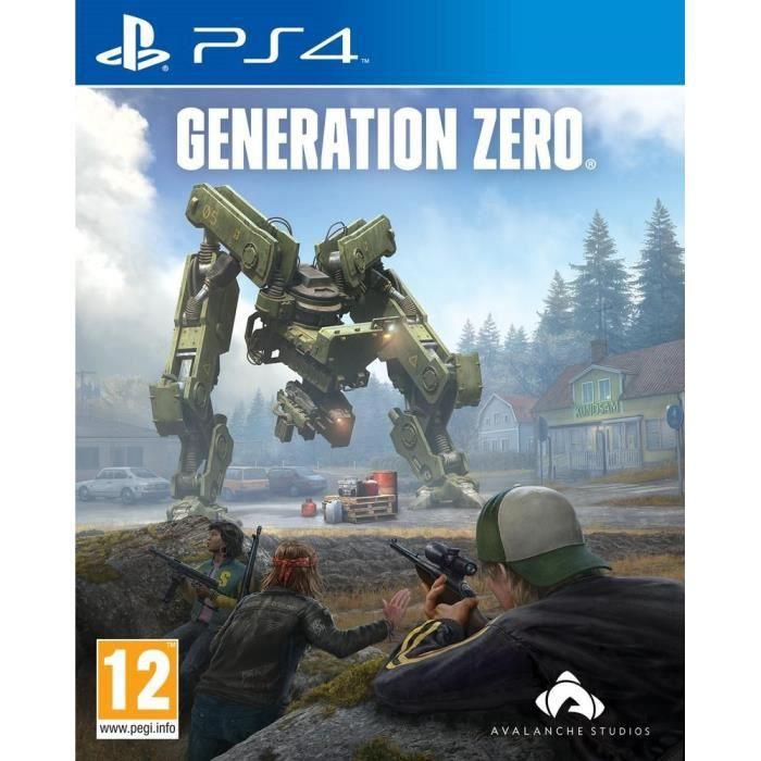 Génération Zéro Jeu PS4