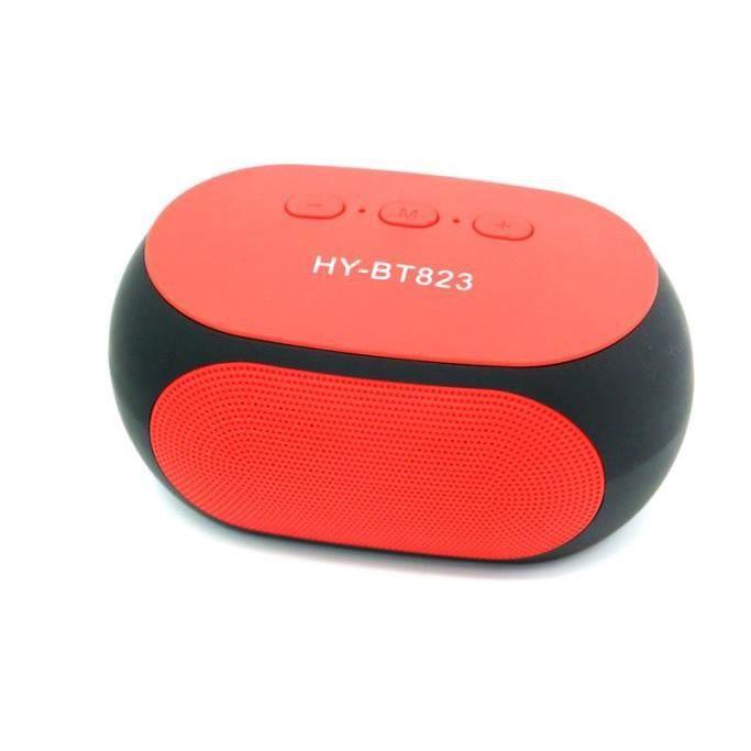 Bt823 Super Bass Portable Sans Fil Bluetooth Mains-libres Haut-parleur Pour Iphone Rd @speaker210