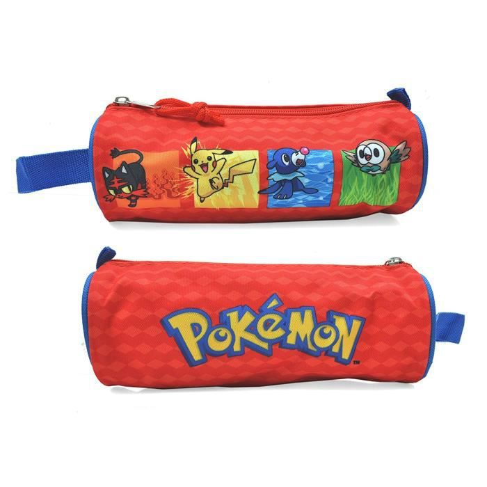 Trousse ronde Pokémon Rouge skNsjw