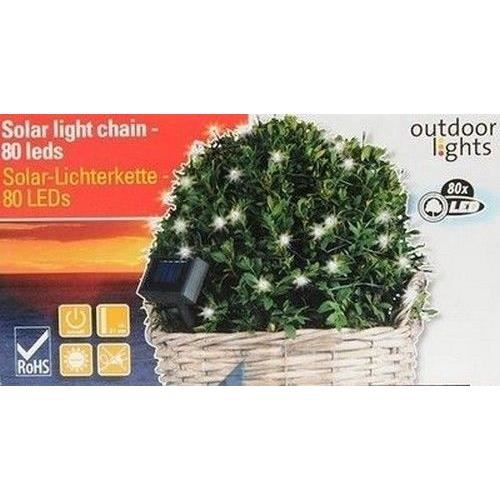 GUIRLANDE LAMPE ECLAIRAGE EXTERIEUR PLANTE DECORATIVE 100 LED