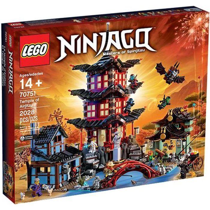 De Temple Lego L'airjitzu 70751 NinjagoLe Ybf76gy