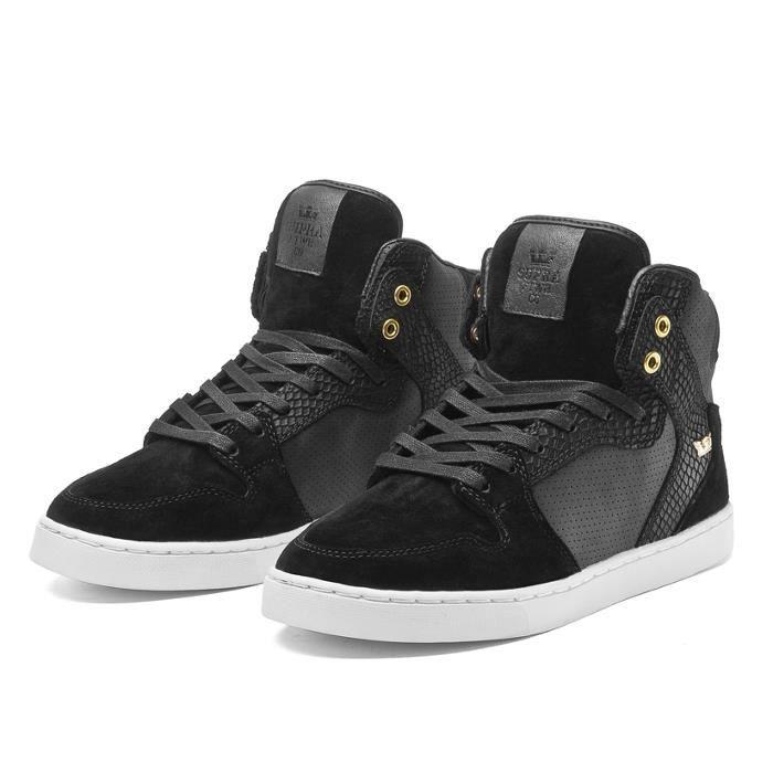 Shoes SUPRA VAIDER LX BLACK/BLAC...