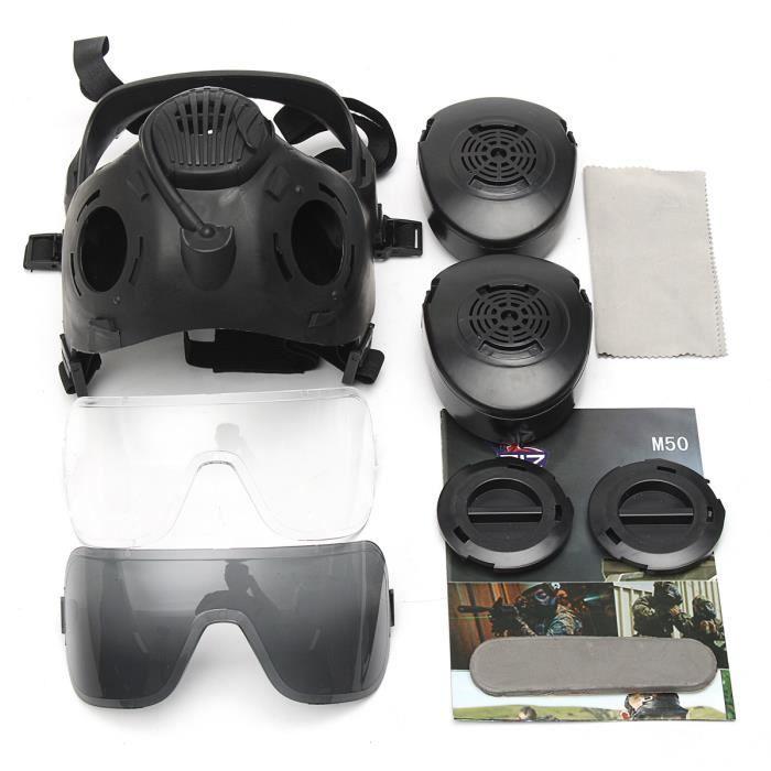 tempsa m50 airsoft protection masque gaz toxiques complet achat vente masque de paintball. Black Bedroom Furniture Sets. Home Design Ideas