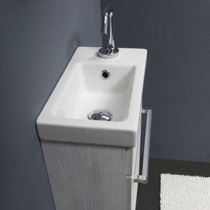 Meuble salle de bain gain de place - Achat / Vente pas cher