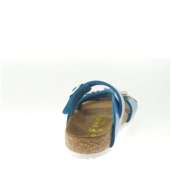 Birkenstock Salina Baby Light Blue Flower wY6yEdxWV