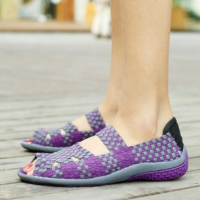 Sandales femmes mode Décontractée respirant fonctionnement sport
