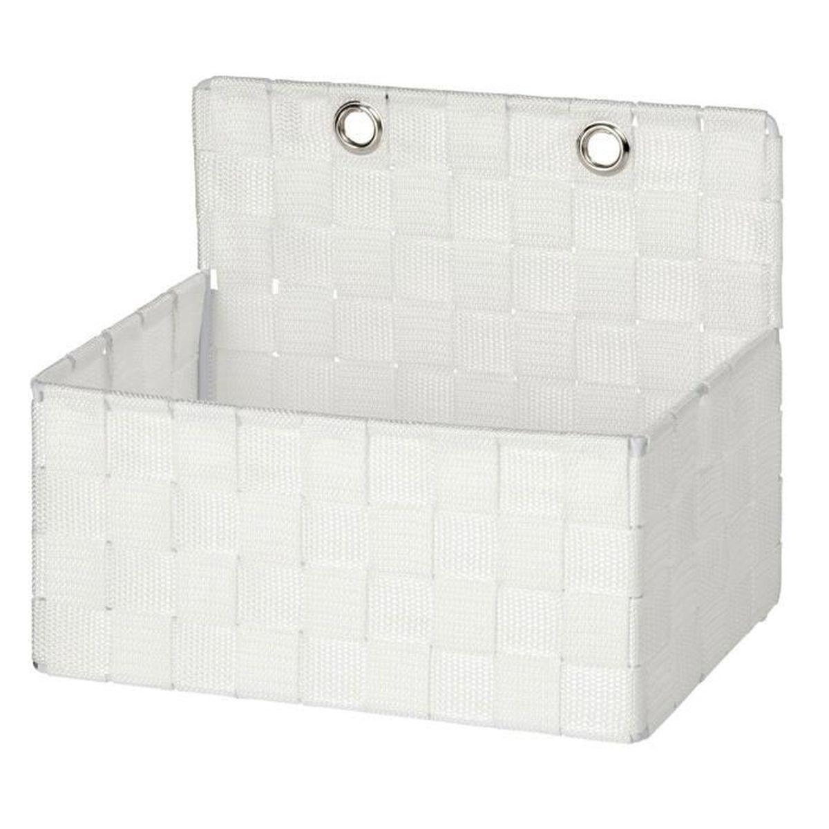 panier à accrocher adria blanc - achat / vente casier pour meuble