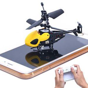 DRONE RC 2CH Mini de l'hélicoptère radio de contrôle à d