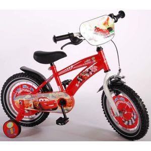 VÉLO ENFANT Vélo enfant Disney Cars roues de 14 Pouces avec 3,