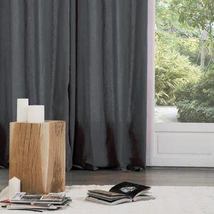RIDEAU Paire de rideaux (135 x H240 cm) Lina Orage