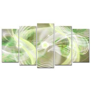 TABLEAU - TOILE Tableau Déco Design Abstrait Hypnotisante - 150x80