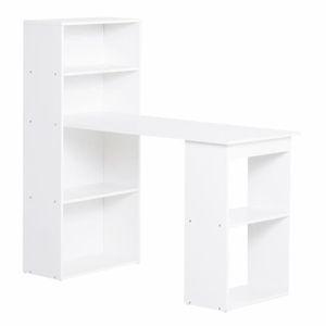 MEUBLE INFORMATIQUE Bureau informatique 120L x 55l x 120H cm bibliothè