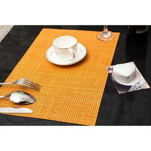 set de table tresse achat vente set de table tresse pas cher cdiscount. Black Bedroom Furniture Sets. Home Design Ideas