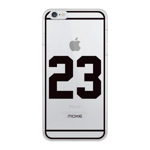 COQUE - BUMPER Coque Moxie Crystal NUMBERS n 23 pour iPhone 6+/6S