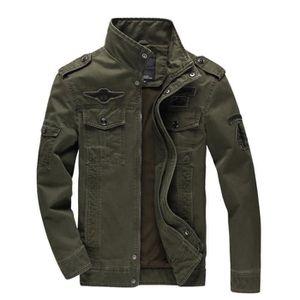 BLOUSON JTONG Blouson homme coton décontractée jacket men