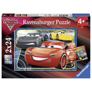 PUZZLE Ravensburger 07816 Puzzle - Cars 3 - 2 x 24 Pièces