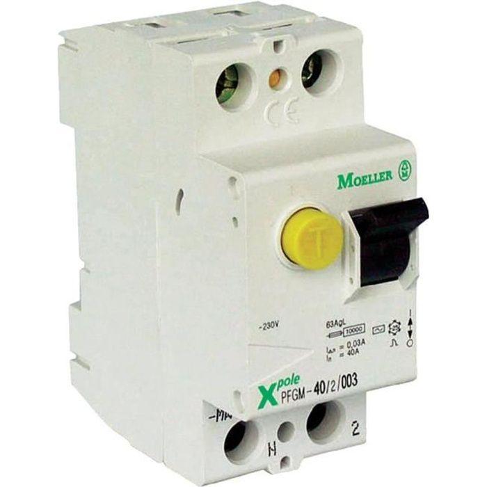 Interrupteur différentiel 63A-type A Moeller - Achat   Vente ... 2a906ec79bee