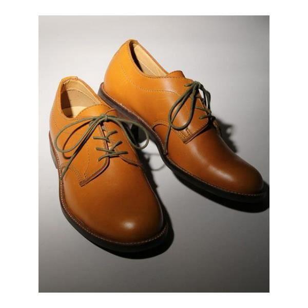 Chaussures à bout rond jaunes homme L0xRmszHP