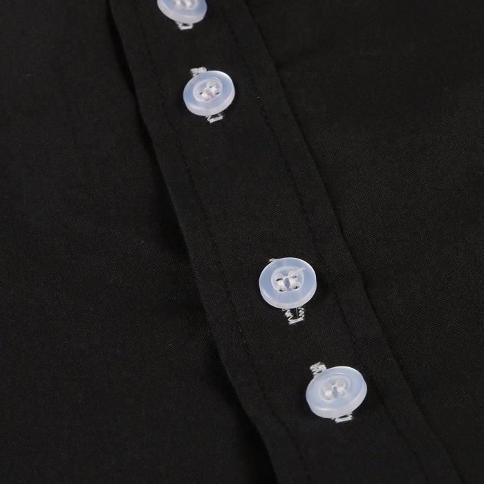 Hommes T-Shirt chemises à carreaux manches longues Slim Fit Business  occasionnel RW06205007 50ef58714466