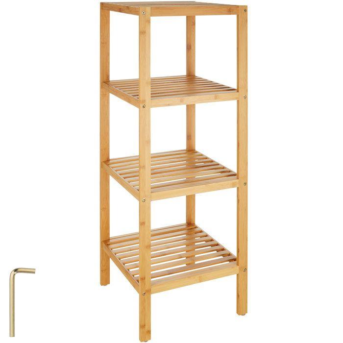 etagere bambou salle de bain - achat / vente etagere bambou salle