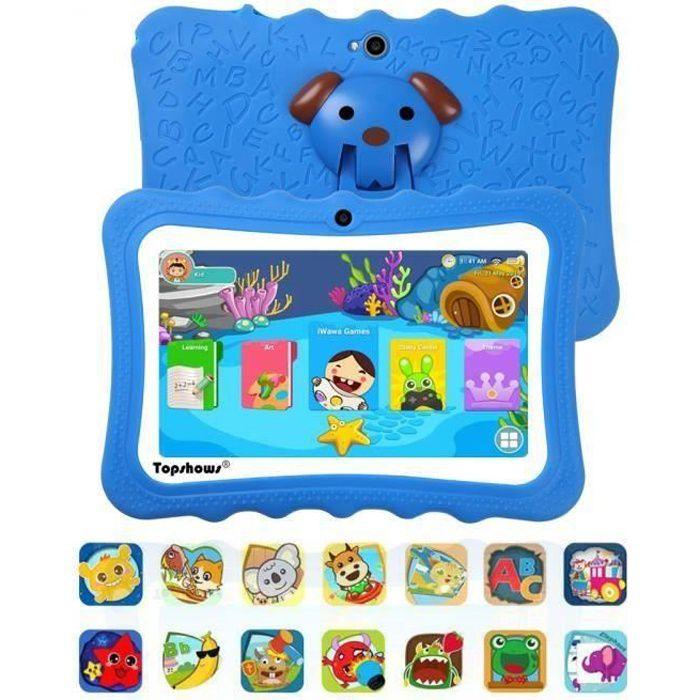 TABLETTE TACTILE Tablette Tactile Enfants 16Go -TOPSHOWS 7''HD Tabl