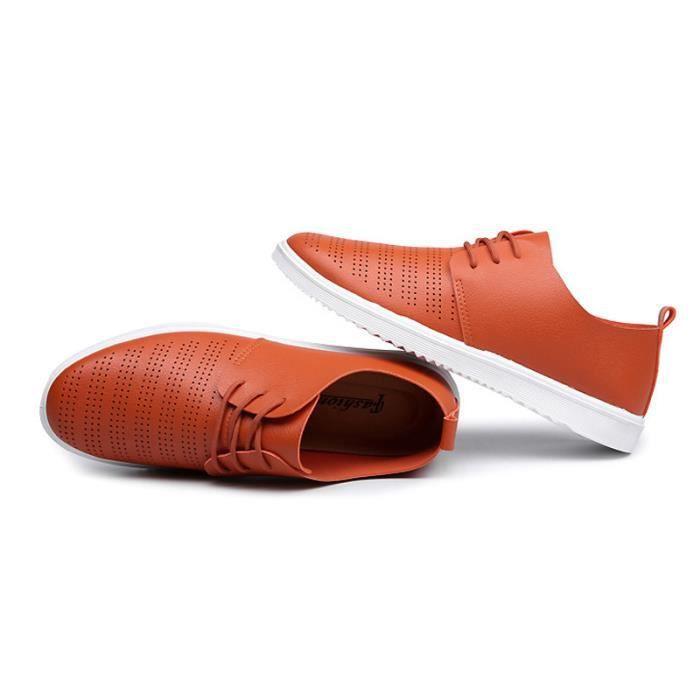 Chaussure Homme Meilleure Qualité En Cuir Souple Mode Tendance D'affaires Hommes Mocassins Occasionnels Respirant Confortable qmF5Sr24n