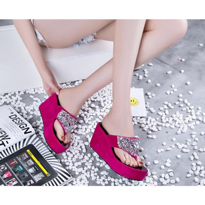 Eté Femme Mode Sandales Eté Femme Sandales Plage Plage qIWnTRwIr0