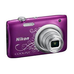 APPAREIL PHOTO COMPACT NIKON COOLPIX A100 Violet - 20,1 mégapixels - Zoom