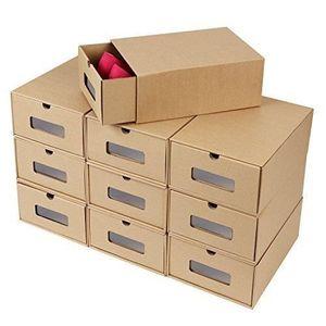PIÈCES DE RÉPARATION FEMOR 10xBoîte à Chaussures en Papier Kraft Boîte