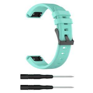 BRACELET DE MONTRE pour Garmin Fenix 5 Plus Band Easy Fit 22mm Larg