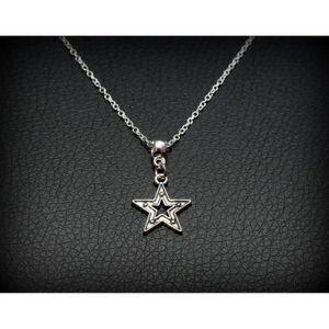 SAUTOIR ET COLLIER Bijou collier chaîne pendentif étoile star , idée