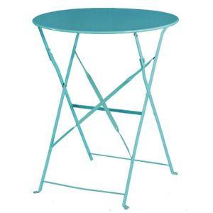 MANGE-DEBOUT Boléro Mer Bleu Pavement style acier Table 595mm