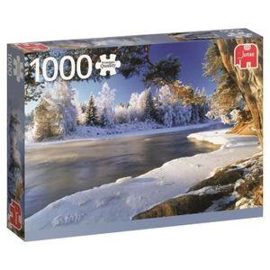 PUZZLE JUMBO Puzzle 1000 p - Fleuve Dalälven, Suède