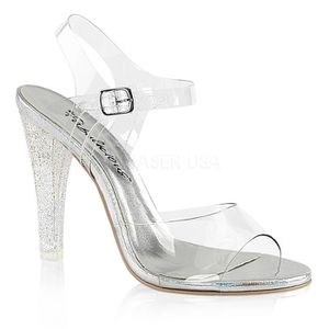 SANDALE - NU-PIEDS Fabulicious CLEARLY-408MG Femme
