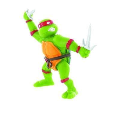 FIGURINE - PERSONNAGE Les Tortues Ninja - Mini figurine Raphael 7 cm