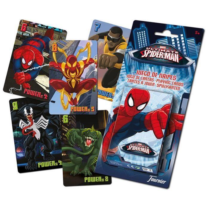 Spiderman jeu de cartes jouer achat vente carte a - Jeux de spiderman voiture ...
