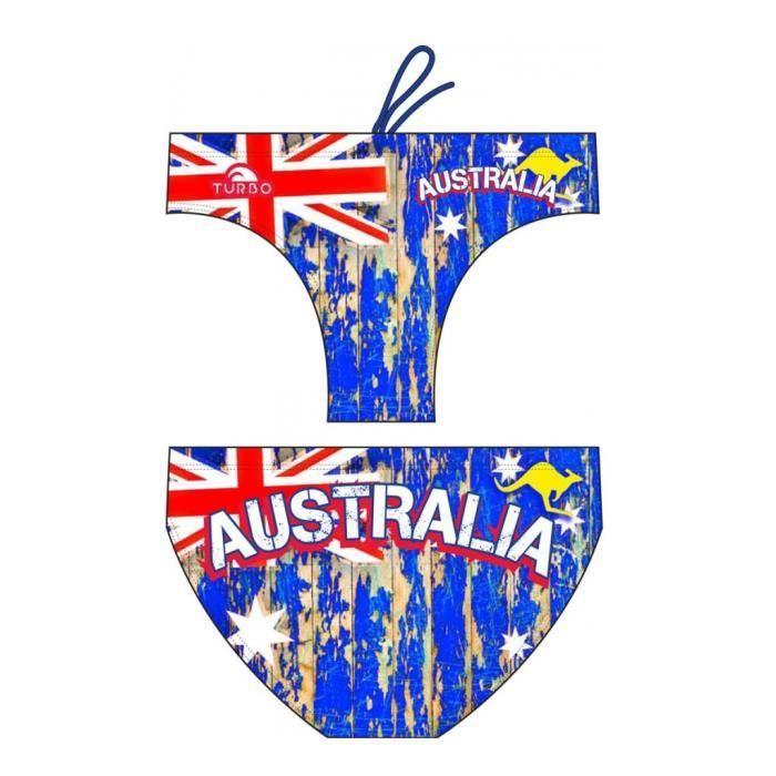 liquidation à chaud prix le plus bas dernière collection TURBO - AUSTRALIA - Maillots natation slip homme - Noir ...
