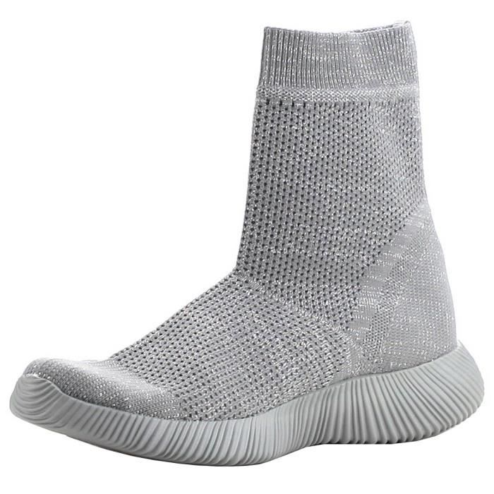 Breathable Stretch Textured Sole Sock Boot HXILU Taille-37 jboiYgvi