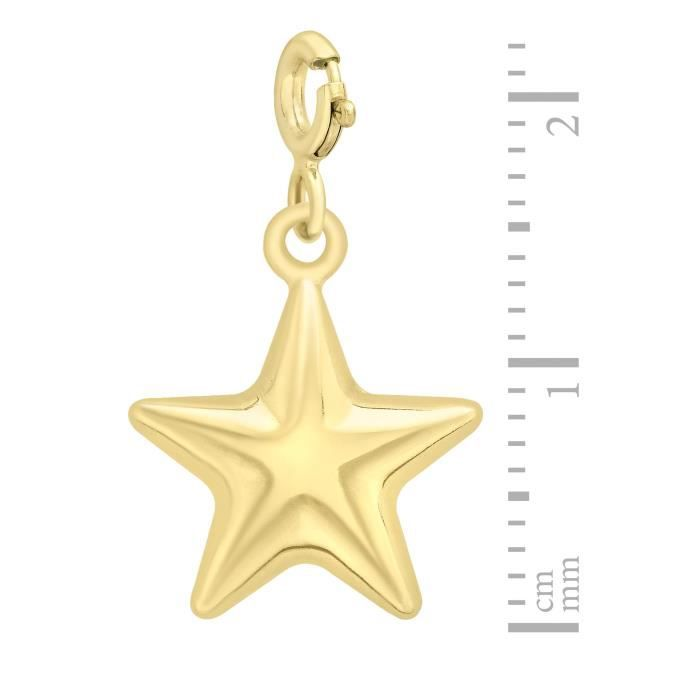Charms - Femme - Or Jaune 375-1000 (9 Cts) 0.49 Gr YK7HU