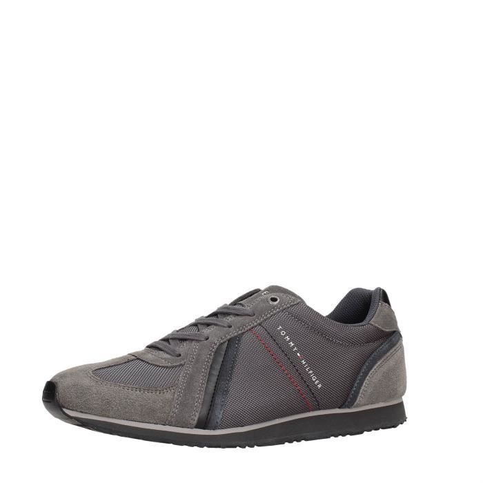 Tommy Hilfiger Sneakers Homme Grey qv7Vuu