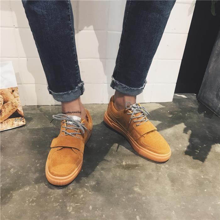 Mocassins pour homme Chaussures mode Chaussures de villeChaussures en daim Chaussures de loisir Chaussures confortables