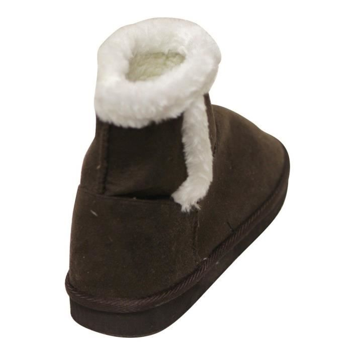 C Label Cupcake-118 Winter Warm Comfort Ankle Suede Faux Fur Lining Casual Snow Boots GEGHX Taille-37 1-2