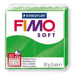 FIMO Boîte 6 Pi?ces Fimo Soft Vert Tropical