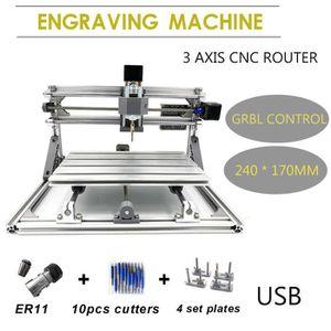 FRAISEUSE 3 Axes CNC USB Router Laser Graveur Gravure Fraise