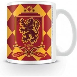 BOL - MUG - MAZAGRAN Mug Harry Potter - Ecusson de Gryffondor stylisé